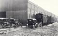 Model T's Being Loaded on Railcars in 1910