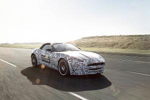 Jaguar F-Type, um novo roadster em Nova York