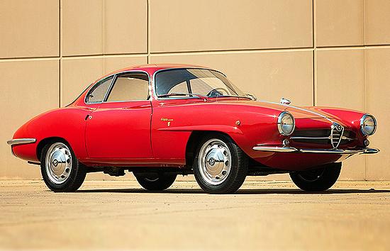 Alfa Romeo Giulietta Sprint Speciale, de 1961