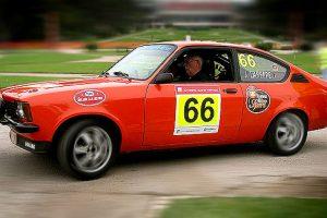 Jose Lareppe no comando do Rallye de Portugal Histórico 2012