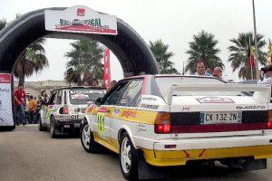 A partida do Rallye de Portugal Histórico