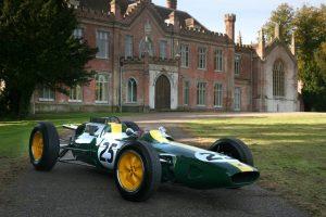 Lotus de Jim Clark na Race Retro