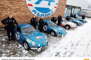Alpine em força no Monte Carlo Histórico