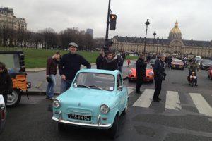 Travessia de Paris bastante animada