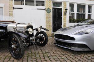 Aston Martin comemora 100 anos