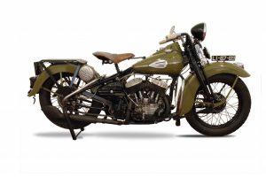 Museu do Caramulo restaura Harley-Davidson WL
