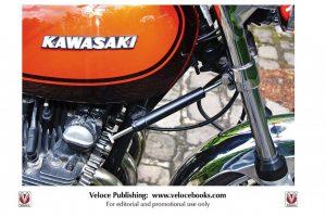 Kawasaki Z1 e Z900 em livro