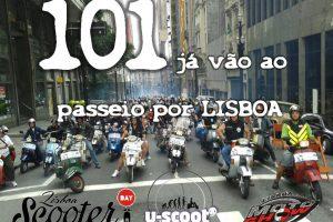 Scooter Day em Lisboa