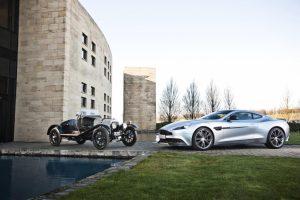 Comemorações da Aston Martin continuam em Londres