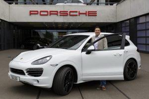 500.000 Porsche Cayenne sairam de Leipzig