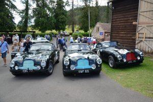 Aston Martin na Rampa de Shelsley Walsh