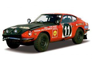 Clube de Restauro da Nissan recupera lendário Datsun 240Z do Rali Safari