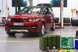 """Novo Range Rover Sport preparado para enfrentar o desafio de atravessar o deserto """"Empty Quarter"""""""