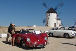 Porsche Clube 356 Portugal por terras de D. Quixote