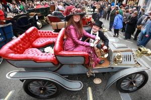 Regent Street recebeu o maior Motor Show do Reino Unido