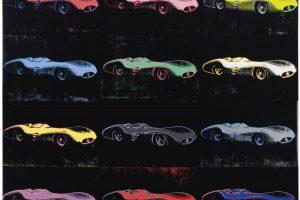 Quadro de Warhol sobre Mercedes-Benz de Fangio leiloado por $13 milhões