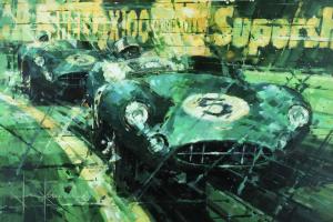 A pintura semi abstracta de John Ketchell