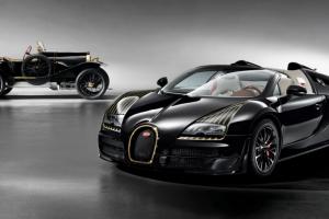 """""""Les légendes de Bugatti"""": Black Bess"""
