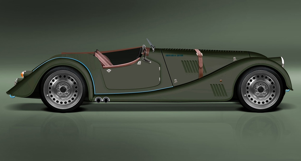 Morgan Plus 8 Speedster:
