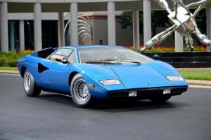 Bonhams leiloa Lamborghini Countach LP400