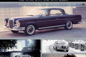 Mercedes-Benz 'Fintail' : Models W110, W111 & W112