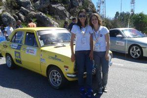 Datsun Rally Girls no Espírito do Caramulo