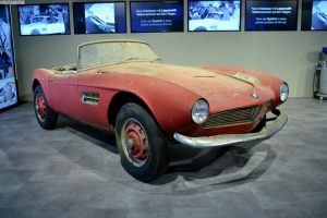 BMW 507 de Elvis Presley será restaurado em Munique (com Vídeo)