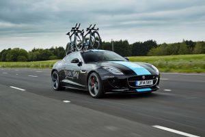 Um F-Type exclusivo para celebrar o apoio ao Team Sky no Tour de France