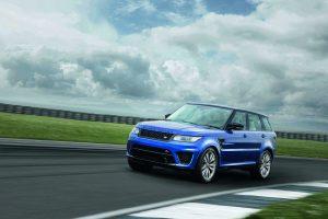 Land Rover apresenta Range Rover Sport SVR