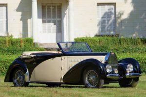 Bugatti Type 57C Stelvio avaliado em mais de meio milhão de libras