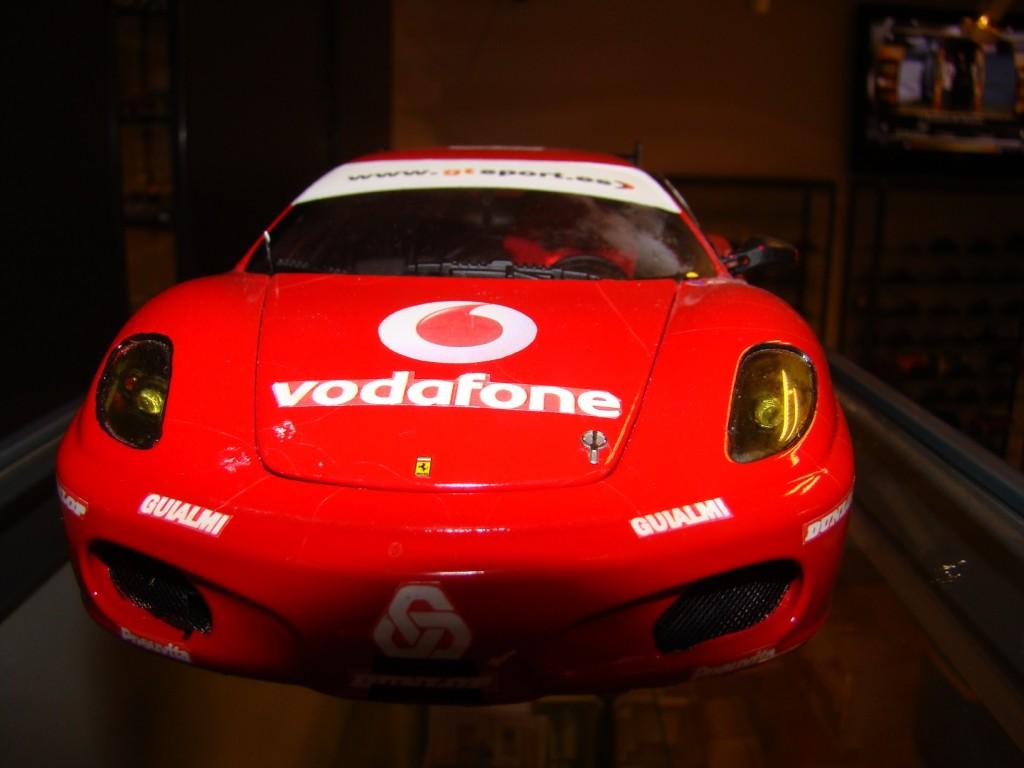 Miniaturas: Ferrari em exposição até Março