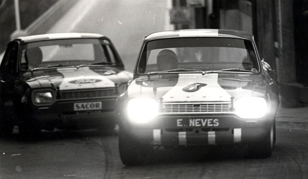 Nené Neves marca presença no Motorfestival no Ford Escort TC do Team Palma