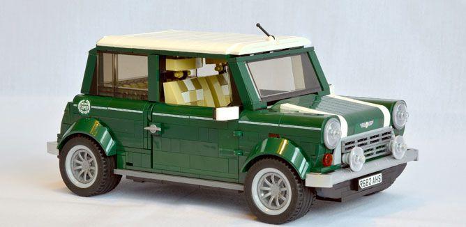 Mini Cooper em Lego