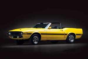 Shelby Mustang GT500 Convertible em leilão no Texas