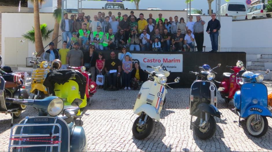 Vespa Clube do Algarve organiza 3º convívio de São Martinho