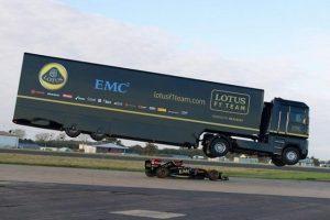 Camião bate recorde ao saltar por cima de um F1 (com Vídeo)