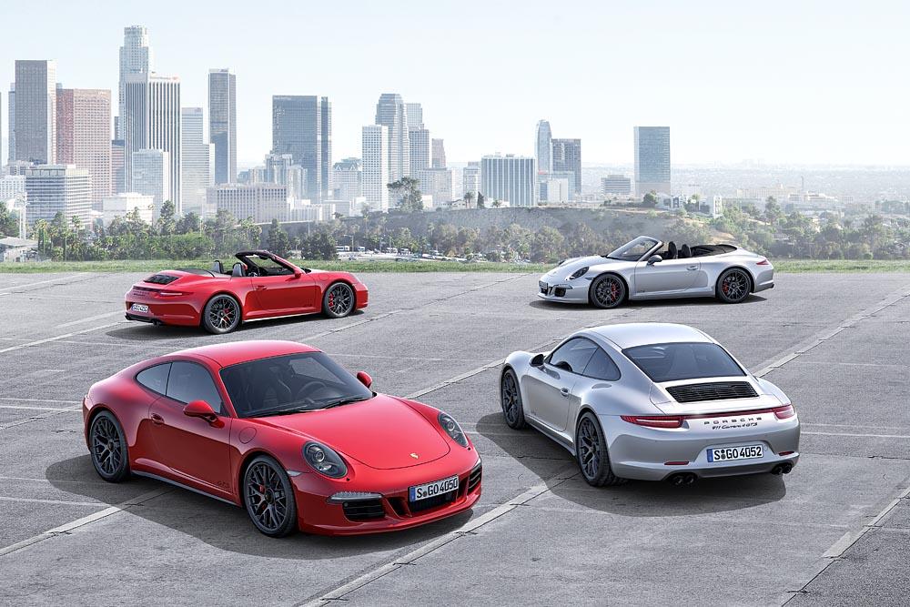 Porsche apresenta três novidades no Salão Automóvel de Los Angeles