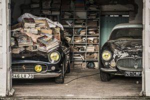 Automóveis no valor de €15 milhões esquecidos durante 50 anos (com Vídeo)