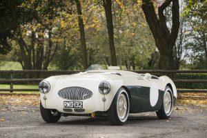 Austin-Healey 100S Sports-Racing leiloado por €849.627