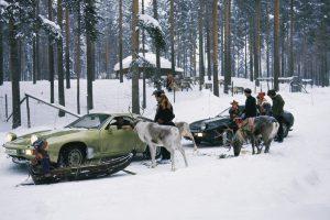 Uma viagem à Lapónia de Porsche 928