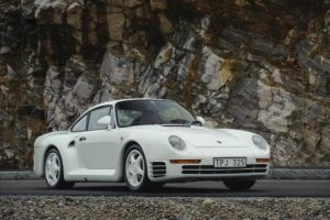 Porsche 959 Komfort vendido por mais de 600 mil euros
