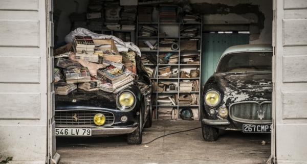 Rétromobile, 4-8 Fevereiro. Leião dos 60 clássicos abandonados durante 50 anos