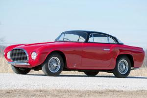 Ferrari 212 Europa Coupe em leilão em Amelia Island