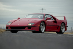 Raro Ferrari F40 em leilão