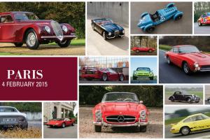 Veja em directo o leilão da RM Auctions em Paris