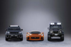 """Jaguar e Land Rover anunciam parceria com """"Spectre"""", a 24.ª aventura de James Bond"""