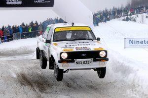 Rally Histórico da Suécia: Solberg vence pela terceira vez consecutiva