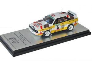 Miniatura Audi Sport Quattro já disponível