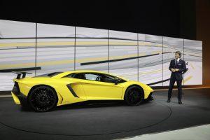 Lamborghini Aventador LP 750-4 Superveloce em estreia mundial no Salão Automóvel de Genebra