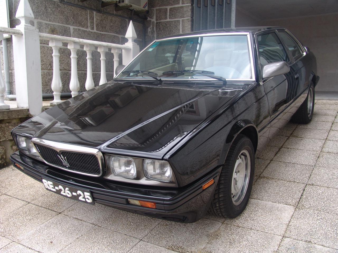 Maserati 222 Biturbo vai a leilão em Cascais